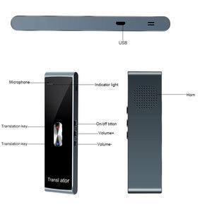 Image 4 - kebidumei Portable Smart Instant Voice Translator T8S PK T8 Multi Language Speech Interactive Translator Bluetooth Real Time