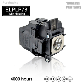 High Quality Projector Lamp Buld With Housing For ELPLP78/ELPLP88/ELPLP87 - discount item  20% OFF Home Audio & Video