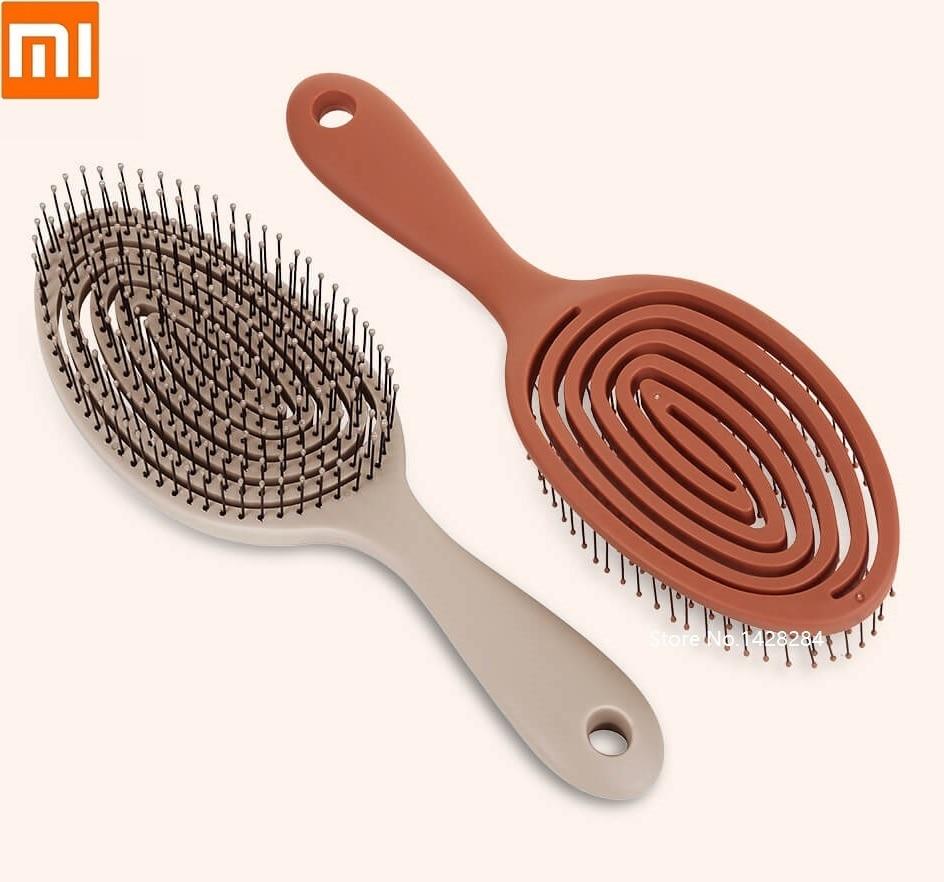 Xiaomi Youpin Relaxing Elastic Massage Comb Memory Comb Elastic Force Portable Hair Brush Massage Brush Men Woman Head Combs