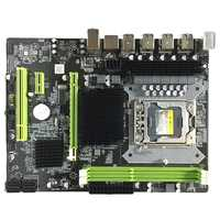 hot sale X58 Motherboard Lga 1366 Ddr3 Ecc/Reg Memory Support For Xeon X5550 X5675 X5680 X5690 E5520 E5540 Server
