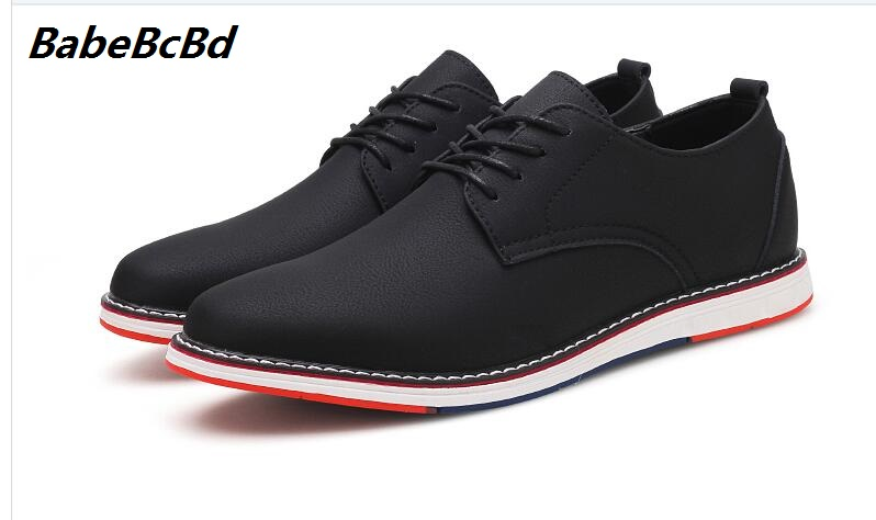 Buy spring 2018 men's rete mucosum shoes English style of men's shoes will be increased by men's shoes