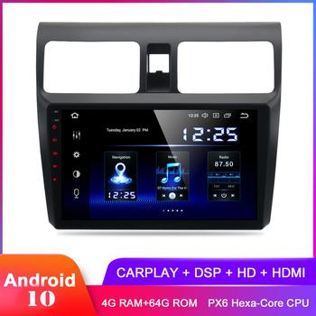 Dasaita 10.2 IPS Display Android 10 Carplay For Swift 2006 2007 2008 2009 2010 In Dash Auto Radio Stereo GPS DSP Audio Video image