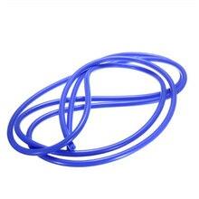 Синий вакуумный шланг газовое масло топливных линий трубки 3 мм ID универсальный силиконовый замена
