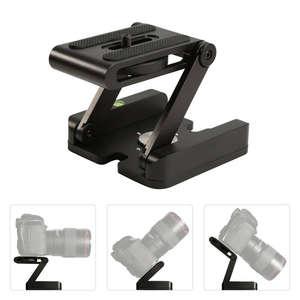 Camera-Stand-Holder Tripod Tilt-Head Flex-Pan Dslr-Camera Folding Z-Type Canon Sony