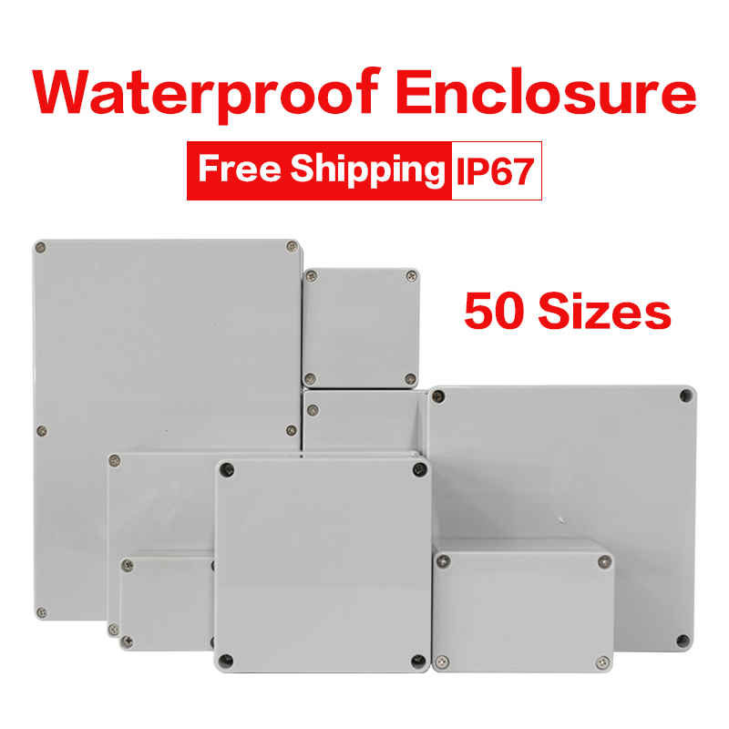 Outdoor Waterproof Case Enclosure Plastic Box Electronic Project Case Waterproof Junction Box for Electronics