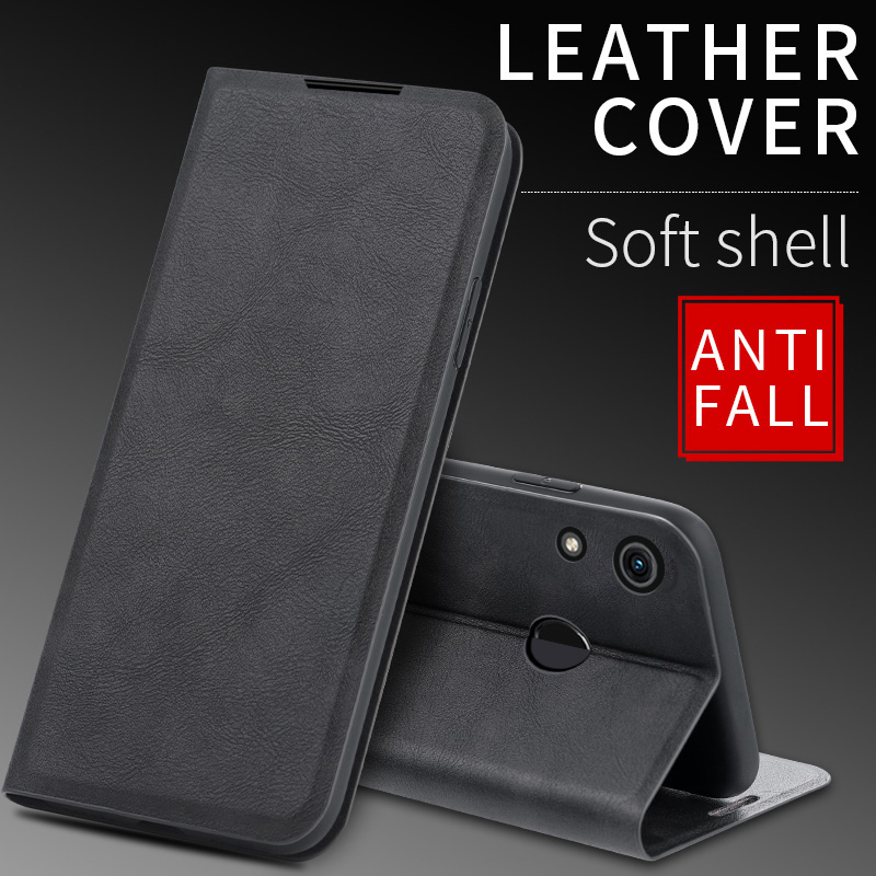 Vintage Leather Cases For <font><b>Huawei</b></font> <font><b>Honor</b></font> <font><b>8X</b></font> Case Flip Auto Magnetic Wallet Book Cover For <font><b>Huawei</b></font> <font><b>Honor</b></font> 8A Pro 8C <font><b>8X</b></font> Max Cases Capa image