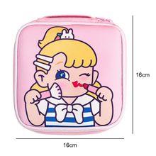 1 шт косметички для девочек повседневный чехол карандаш макияжа