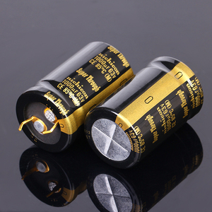 Image 2 - 1pc 6pc 1000UF 63V 22x35mm Nichicon KG Super Through Pitch 10mm 63V/1000uf Gold Foot Super Penetration Electrolytic Capacitor