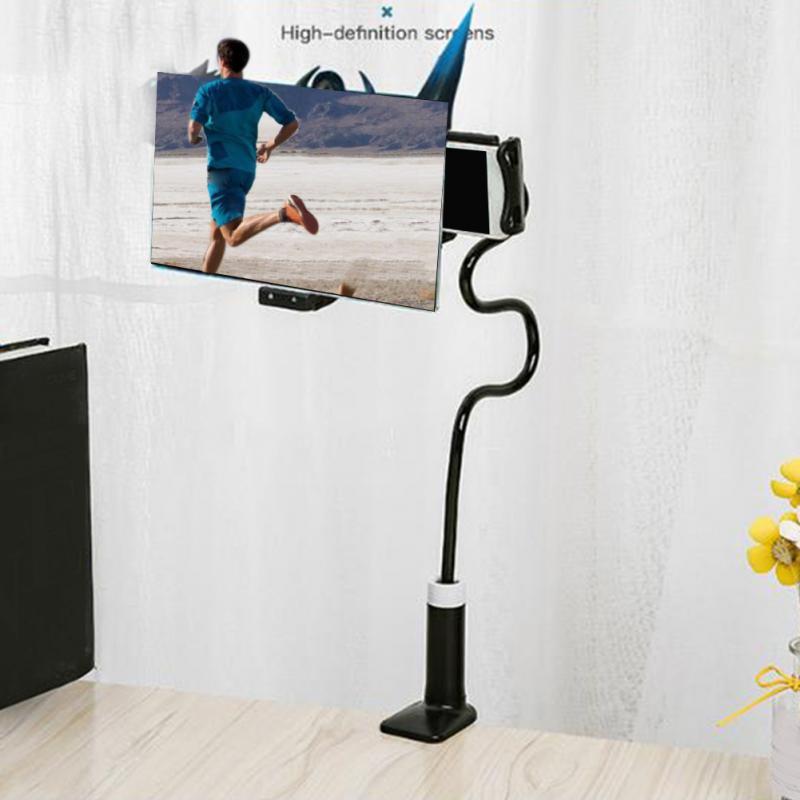 Teléfono Móvil soporte de proyección de alta definición ajustable Flexible todos los ángulos teléfono tableta soporte 3D HD pantalla lupa Dropship lámpara de Luna 3D 20cm 18cm 15cm cambio colorido toque USB Led luz de noche decoración del hogar regalo creativo
