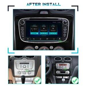 Image 3 - 안드로이드 올인원 네비게이션 포드 포커스 Mondeo S MAX C MAX 갤럭시 kuga 2din 자동 오디오 탐색 자동차 스테레오 멀티미디어 gps에 대 한 2 DIN 안 드 로이드 자동차 라디오 PX6 카오디오