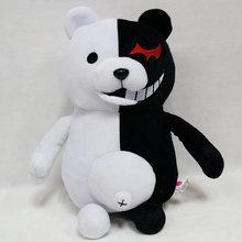 Dangan ronpa super danganronpa 2 monokuma urso brinquedo de pelúcia anime plushie monomi animais de pelúcia boneca presentes de aniversário para crianças