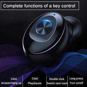 Image 4 - Fone de ouvido xg12 bluetooth 5.0 tws, estéreo, wireless, hifi, fones de ouvido esportivos, mãos livres, gamer, headset com microfone para celular