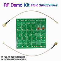 RF Demo Kit Cable Filter Vector Network Attenuator Test Board Accessories Equipment Set Tool Anaylzer For NanoVNA