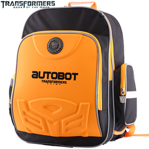 Image 4 - TRANSFORMERS school bags boys backpack children school backpack for Kids Cartoon style Stylish appearance and nice colors