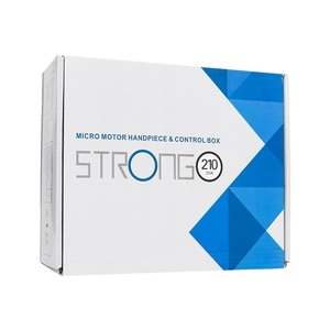 Image 5 - 65W Sterke 210 105L Borstelloze Nagel Boren Manicure Machine Pedicure Elektrische Sterke 35000Rpm File Bits Nagels Art Equipme