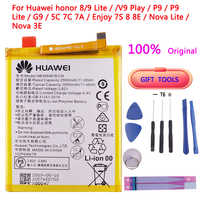100% original teléfono pila HB366481ECW Voor para huawei honor 8 lite honor 5C Ascend P9/P10 P9 Lite G9 pila