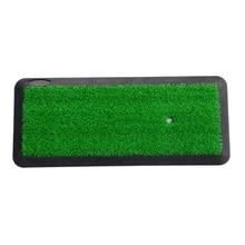 Golf Mat Golf Training Outdoor Sport Golf Tool Aids Hitting Pad Practice Grass Mats Game Party For Golf Hobby Training Mat Indoo все цены