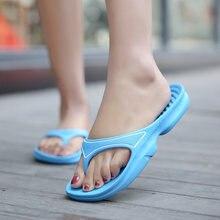 Шлепанцы унисекс сандалии на плоской подошве Нескользящие для