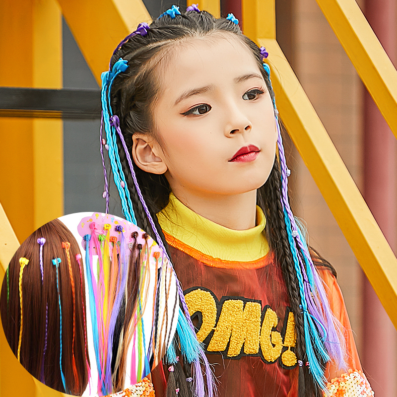 Awesome M Mism 24Pcs Lot Colorful Twist Fashion Wig Braids For Girls Kids Natural Hairstyles Runnerswayorg
