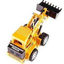 5-Channel RC Remote Control Excavator Model Truk Loader RC Mobil Rock Crawler Remote Control Mobil Mainan Di radio Controlled(China)