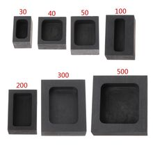 цена на Graphite Ingot Bar Mold Mould Crucible for Melting Gold Silver Casting Refining for Jewelry Making Tools DIY Accessories