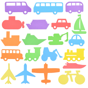 Image 5 - Alphanumerische Brief Puzzle Bad Spielzeug Weiche EVA Kinder Baby Bad Wasser Spielzeug Frühe Pädagogische Saug Up Fisch Bade Spielzeug