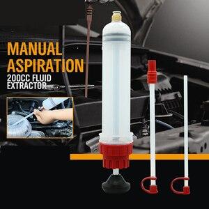 Image 1 - 200cc Oil Extractor Filling Syringe Manual Pump Fuel Pump Auto Accessories Oil filling Equipment herramientas Car Repair Tool