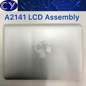 Nuevo plata espacio gris 16''LCD montaje A2141 para Macbook Retina 16