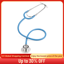 Basic Doctor Stethoscope Professional Dual Head Cardiology Stethoscope Medical Equipment Student Vet Nurse Medical Device
