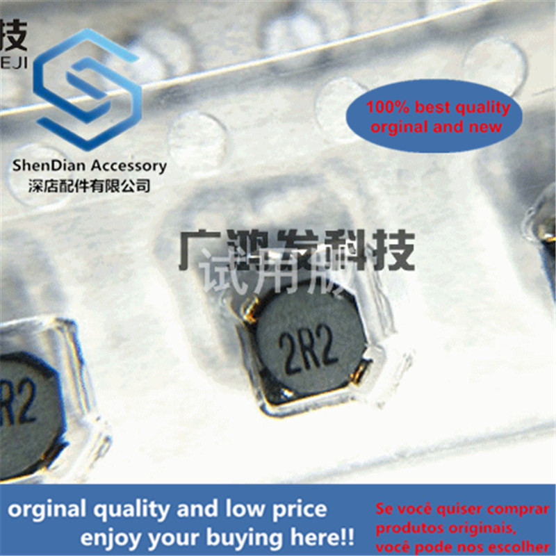 10pcs 100% Orginal New CDRH2D14NP-2R2NC SMD Shielded Power Inductor 2.2UH 1.6A 3.2X3.2X1.55mm