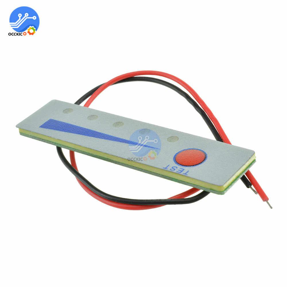 BMS 3S 4S 12V 16.8V Li-ion Baterai Lithium Kapasitas Indikator Display Modul Tegangan Tester LED Display biaya Aksesori