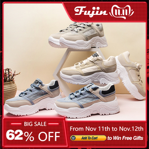Image 4 - FUJIN Women Casual Sneakers Winter Sneakers Breathable Womens Shoes Female Summer Comrfortable Platform Snow Boots Shoes Women