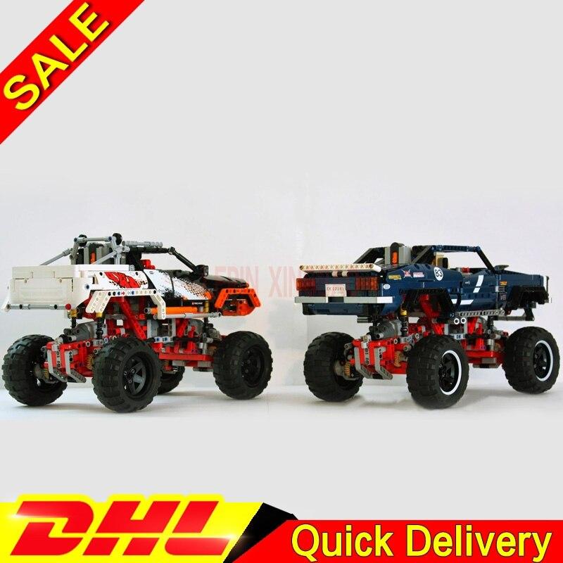 Kits techniques LP 20011 édition limitée Super classique de véhicules tout-terrain LP 20014 blocs de construction briques LPs jouets 41999