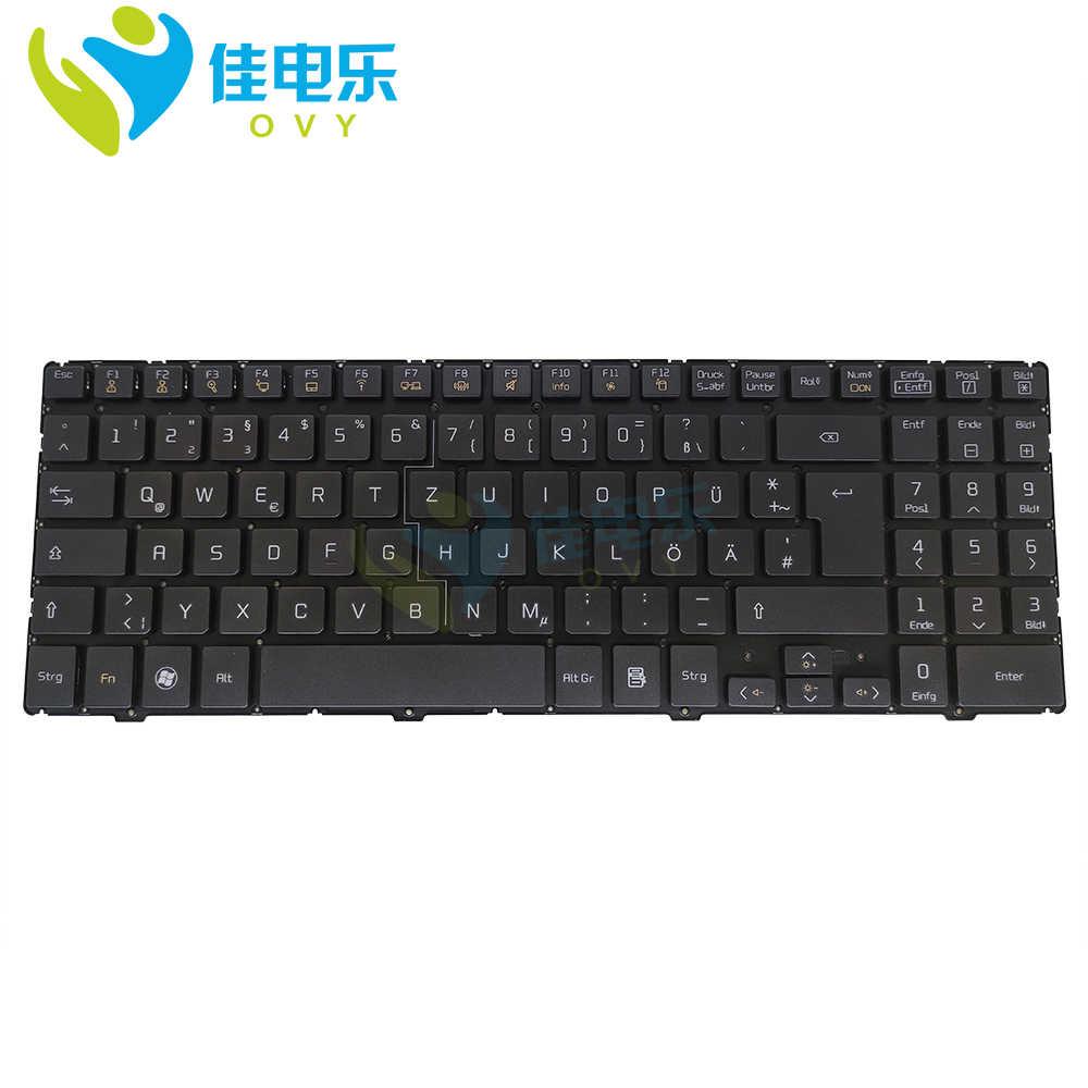 Сменные клавиатуры OVY GR для LG QLM P510 P530, черные AEQLMG00010 2B 03008Q100 GE, немецкая клавиатура для ноутбука, ПК, оригинал, Новинка