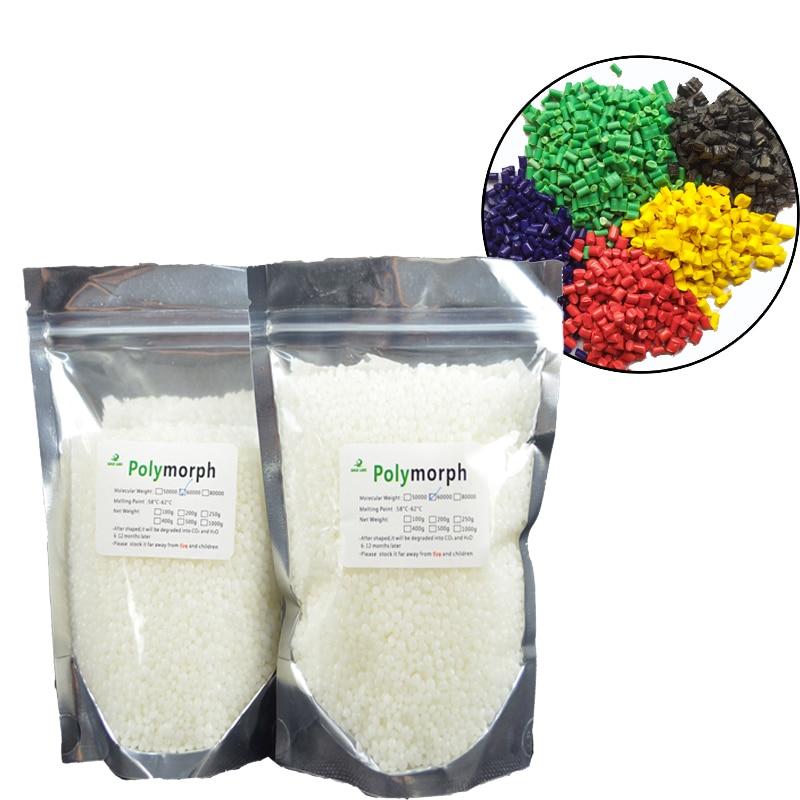 200 г PCL и 5 цветовых комплектов plastamorph форма Перестановка вещь прототип материал полиморф пластик для использования хоббитов