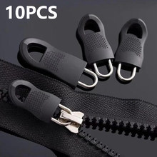 20/10PCS Replacement Zipper Puller For Clothing Zip Fixer For Travel Bag Suitcase Backpack Zipper Pull Fixer For Tent