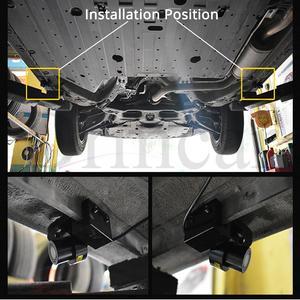 Image 5 - 2X רכב מלאך כנפי בברכה אור צל הנורה מנורת LED דלת אזהרת אור חלום כל רכב DC 12V 24V חניה LED