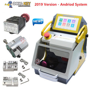 2020 Newest Automatic SEC E9 Key Cutting Machine Better Than MIRACLE Magic A9 Full Automatic Electronic Three axe