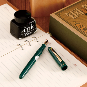 Image 5 - 1pcs Japanese PILOT Fountain Pen 78G Upgraded Version FP 78G 22k Gold plated Nib, Writing Smoothly for Students