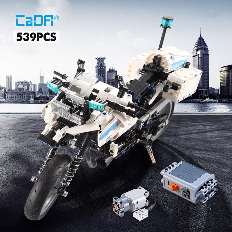 Cada C51023 City Police Patrol Electric Motorcycle