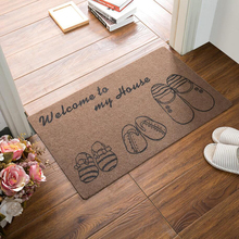 Приветственный напольный коврик входная дверь печатных дверной коврик ковер с впитывание воды коврик для Кухня коврик для ванной, проданы ...