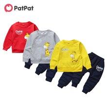 Patpat 2021 на весну и осень для маленьких мальчиков комплект