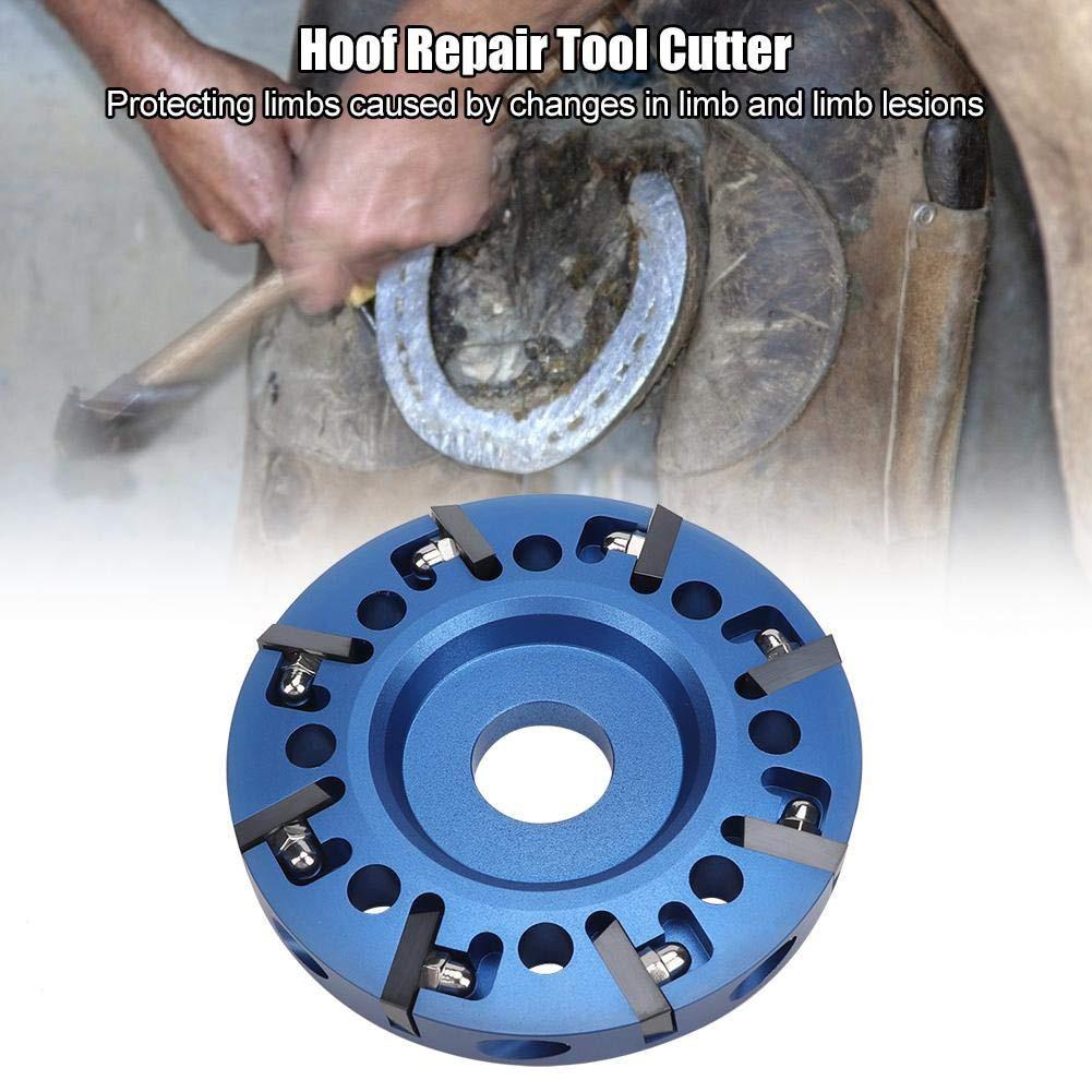 8 лезвий Резак металлический диск электрический копыт ремонтный инструмент аксессуар для крупного рогатого скота молочной фермы бытовой и