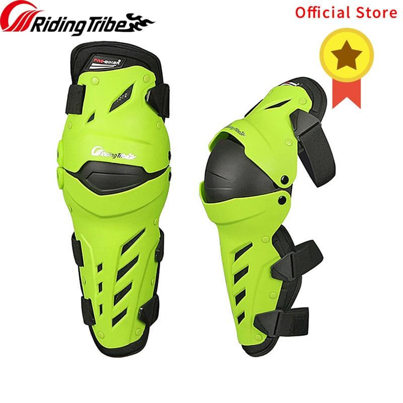 Genouillères Moto Motocross course protège-tibias équipement de protection complet équitation genouillères protections CE Certification HX-P22