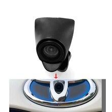 Ccd Автомобильная камера переднего вида ночного видения для новой Toyota Highlander 2,0 T Verso EZ RAV4 PRADO LAND CRUISER camry фронтальная камера