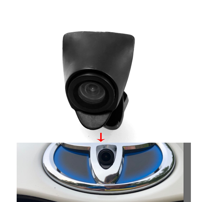 Ccd Night Vision Car Front View Camera For New Toyota Highlander 2.0T Verso EZ RAV4 PRADO LAND CRUISER Camry 2015 Front Camera