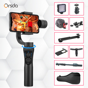 Image 1 - Orsda 3 Assi Handheld Stabilizzatore Gimbal Smartphone Del Telefono Zoom Manuale Viso di Monitoraggio Per iPhone11 Pro Plus S9 S8 Gopro Macchina Fotografica