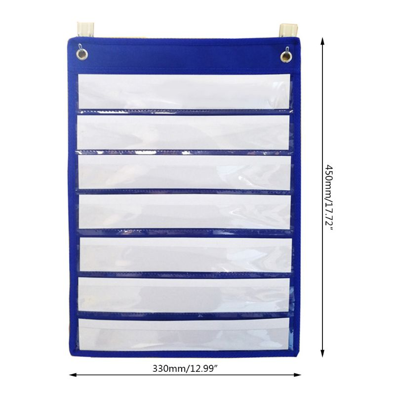 Magnetic Pocket Chart With 10 Dry Erase Cards For Standards Daily Schedule AXYF