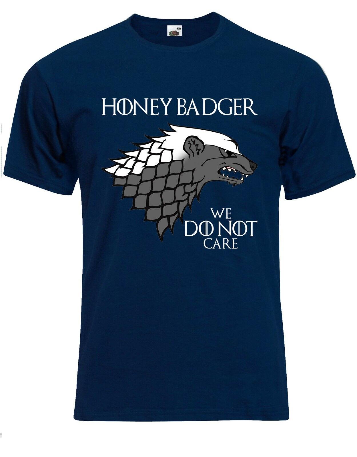 House Honey Badger Got Parody (Clean) Dont Care Mens Tshirt Tee Top