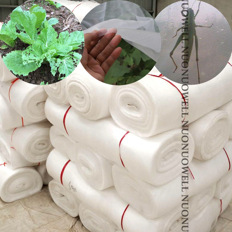 5m 6Size 40~100Mesh Pest Control Net Repeller Farm Vegetable Fruit Protection Net Care Cover Garden Net Mosquito Plastic Netting